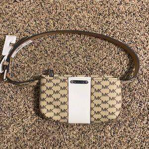 Micheal Kors leather belt bag